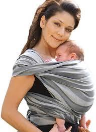 Tissez vos liens avec le bébé grâce à l'écharpe de portage